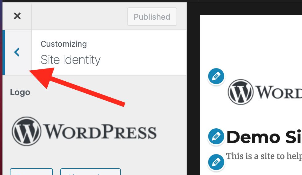 How to get out of site identity.