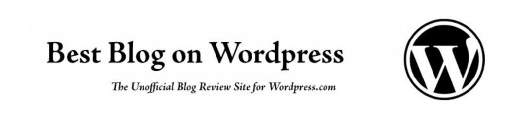 Title, tagline and main menu of https://bestblog.wordpress.com/