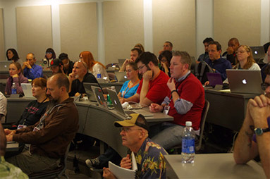 Crowd of WordPress learners